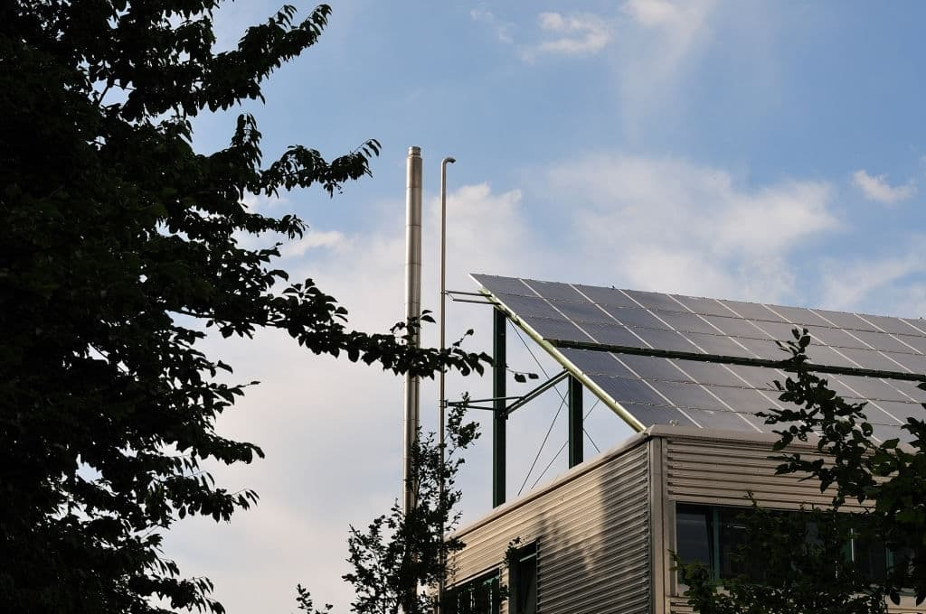 batiment bureau photovoltaîque